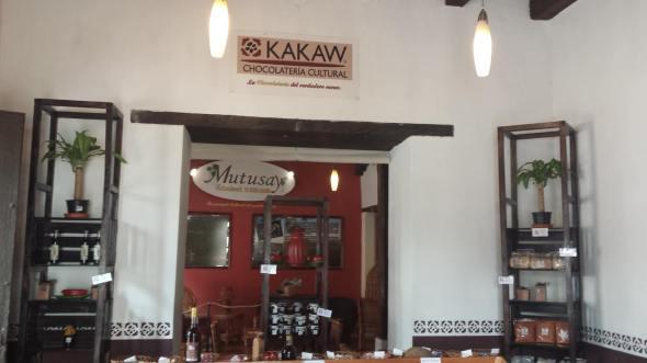 kakaw todo en chocolate