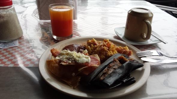 Desayuno en Ocosingo