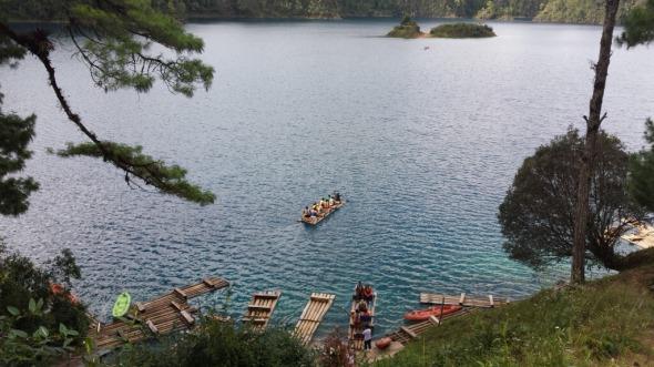 Lagunas en Chiapas